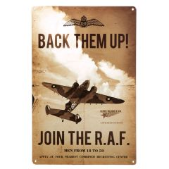 """Join the RAF - 12"""" x 18"""""""