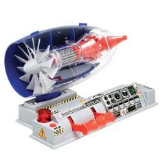 Smithsonian Test Jet Engine Model Kit
