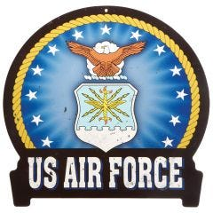 U.S. Air Force Banner Metal Sign