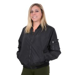 Women's Lightweight Nylon MA-1 Jacket