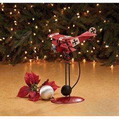 Red Baron Triplane Balancing Model with Kinetic Motion