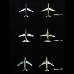 Commercial Plane Pins