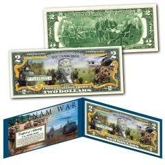 Vietnam War Genuine Legal Tender $2 Bill