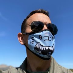 A-10 Warthog Face Mask