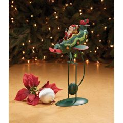 Santa in Airplane Balancing Model with Kinetic Motion