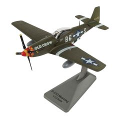 Smithsonian P-51D Mustang Old Crow Die-Cast Model