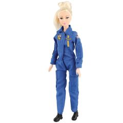 Blue Angels Pilot Doll  (Hair Color Varies)