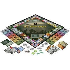 U.S. Army-Opoly Board Game