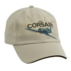 F4U Corsair WWII Aircraft Printed Cap