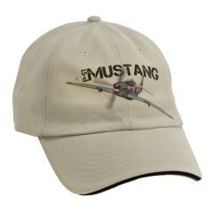 P-51 Mustang WWII Aircraft Printed Cap