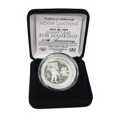 "Limited Edition ""Giant Leap for Mankind"" Mint Coin"