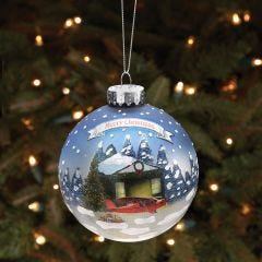 Sporty's Wright Bros.  Christmas Ball Ornament