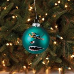 P-40 Flying Tigers Christmas Ball Ornament
