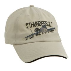 A-10 Thunderbolt Military Aviation Printed Cap