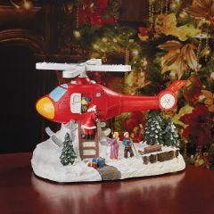 "Emergency ""Gift Drop"" Christmas Lighted Display"