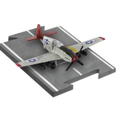 "P-51 Tuskegee - Measures 4.25""l;wingspan 5""w"