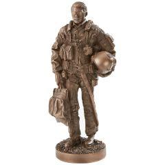 Military Pilot Sculpture