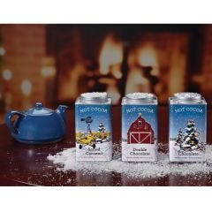 Aviation Christmas Hot Cocoa Tins (Set of 3)