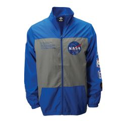 NASA Full-Zip Windbreaker Jacket