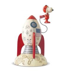 """The Beagle Has Landed"" Snoopy Astronaut Display"