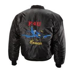 Embroidered F4U Corsair MA-1 Flight Jacket