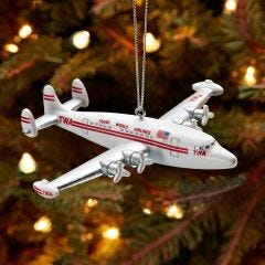 TWA Super Connie Christmas Ornament
