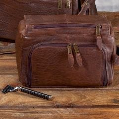 Leather Shaving Kit