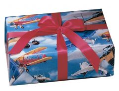 Biplanes Wrapping Paper