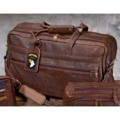 Large Leather Aero Squadron Duffel/Carry-On