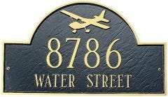 Aviation  House Marker (Wall)