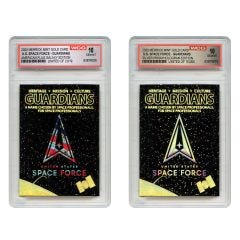 United States Space Force Guardians 2D Gold Card