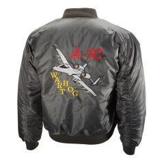 Embroidered A-10 Warthog MA-1 Flight Jacket
