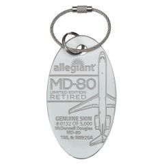 Allegiant McDonnell Douglas MD-80 PlaneTag®