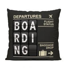Boarding Throw Pillow