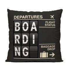 Boarding Throw Pillow
