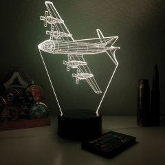 P-3 Orion 3D Aircraft Color Changing Lamps