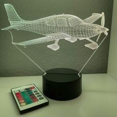 Cirrus SR22 3D Aircraft Color Changing Lamps