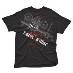 A-10 TANK KILLER Blackbird T-Shirt
