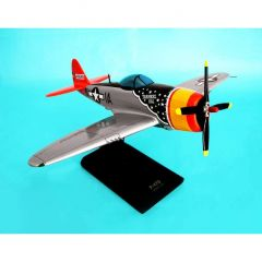P-47d Thunderbolt 1/32 Mahogany Aircraft Model