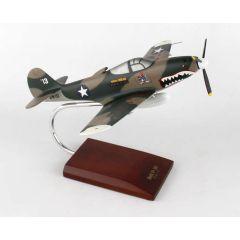 P-39d (P-400) Aircobra 1/32  Mahogany Aircraft Model