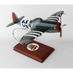 P-47d Thunderbolt 1/32 Mahogany Aircraft Model