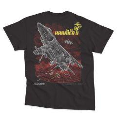 AV-8B HARRIER II Blackbird T-Shirt