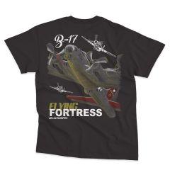B-17 FORTRESS Blackbird T-Shirt