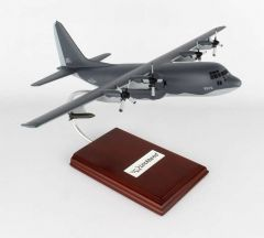 C-130 Hercules Gunship 1/84 Mahogany Aircraft Model