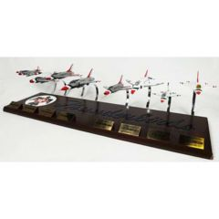 Thunderbirds Colection 8 Mahogany Aircraft Model