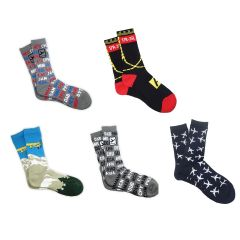 Complete Set of Aviation Socks (Set of 5)