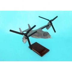 MV-22 Osprey Marines (grey) 1/48 (HV222tr) Mahogany Aircraft Model