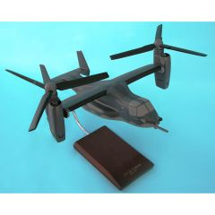 CV-22 OSPREY AIR FORCE DARK GRAY 1/48 (HCV22TR) Mahogany Aircraft Model