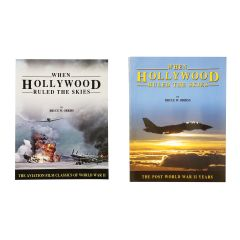 When Hollywood Ruled the Skies Signed Book Combo Set
