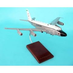 RC-135v/W Rivet Joint W/Small Engines 1/100 (CRC135rjt)  Mahogany Aircraft Model